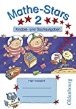 Mathe-Stars - Knobel- und Sachaufgaben: 2. Schuljahr - Übungsheft: Mit Lösungen