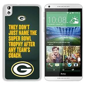 Hot Sale HTC Desire 816 Case ,Green Bay Packers Qoute White HTC Desire 816 Cover Case Unique Popular Designed Phone Case