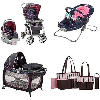 Amazon Com Baby Bundle Travel System Play Yard Swing