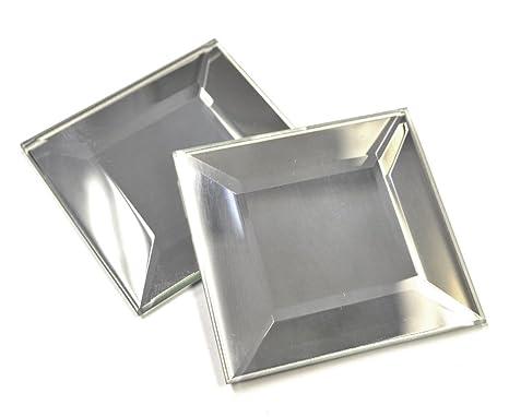 717681aa4e1f 2x2 Wide Beveled Decorative Mirror Tile