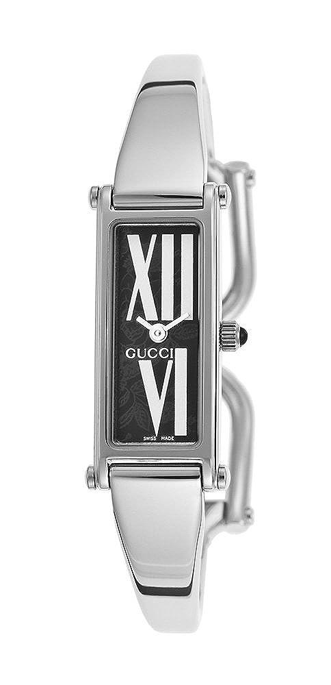 091760c8f35 Gucci 1500 L Stainless Steel Womens Fashion Bangle Watch YA015545   Amazon.ca  Watches