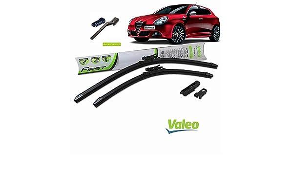 Valeo_group Valeo Juego de 2 escobillas de limpiaparabrisas Especiales para Alfa gulietta 600/450 mm: Amazon.es: Coche y moto