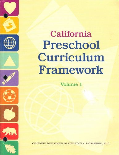 California Preschool Curriculum Framework