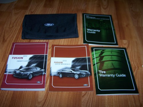Fusions Manual - 2012 Ford Fusion Owners Manual Guide Book