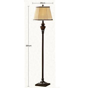 GUTOU-LDD Lámpara de pie Piso De Diseño De Luz Antigua Sala ...