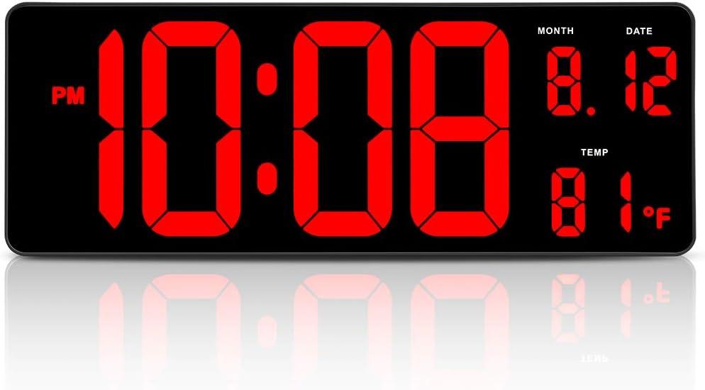 Extra Large LED Digital Clock