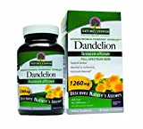 Nature's Answer Dandelion Root Vegetarian Capsules, 90-Count For Sale