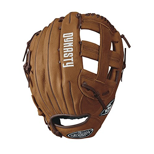 Louisville Slugger Dynasty Slow Pitch Softball Gloves, Left Hand, 13', Caramel