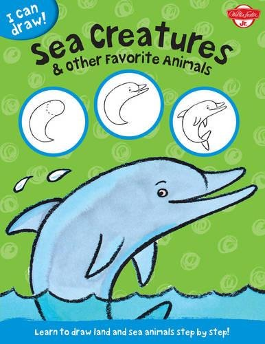 learn to draw sea creatures - 3