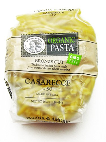 Cucina & Amore Casareece 50 Organic Pasta, 12 Count (Pack of 12) by Cucina & Amore