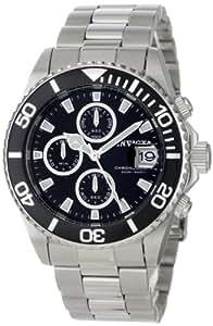 Invicta 1003 - Reloj de Caballero movimiento de cuarzo con brazalete metálico