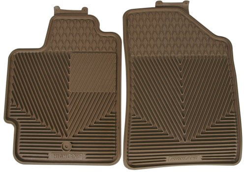 Highland 4402100 All-Weather Tan Front Seat Floor Mat