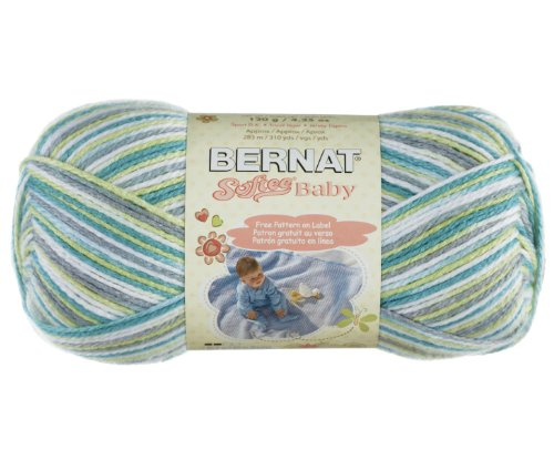 Bernat Softee Baby Yarn, Prince Pebbles, Single Ball (Bernat Crochet Patterns)