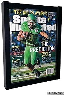 magazine display case magazine display frame sports illustrated display