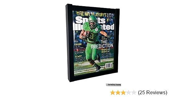 Amazon.com : Magazine Display Case Magazine Display Frame Sports ...
