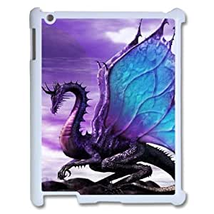 D-PAFD Cover Custom Case Dragon,customized Hard Plastic case For IPad 2,3,4