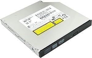 Notebook PC Internal DVD CD Burner Optical Drive Replacement, for Dell Inspiron 17R 5720 7720 N7010 N7110 7220 7720 15R 5521 5520 N5010 N5110 Laptop, 8X DVD+-R/RW DVD-RAM 24X CD-R Writer New