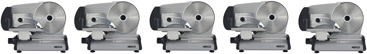 Nesco FS-250 180-watt Food Slicer with 8.7-Inch Blade (5-(Pack))