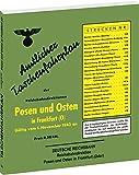 Amtlicher Taschenfahrplan der Reichsbahndirektion Posen und Osten in Frankfurt (Oder) 1943: Gültig vom 1. November 1943 an