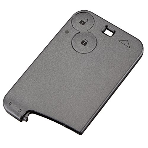 Jili Online REPLACEMENT 2 BUTTON KEY CARD CASE FOR RENAULT ESPACE REMOTE CARD FOB