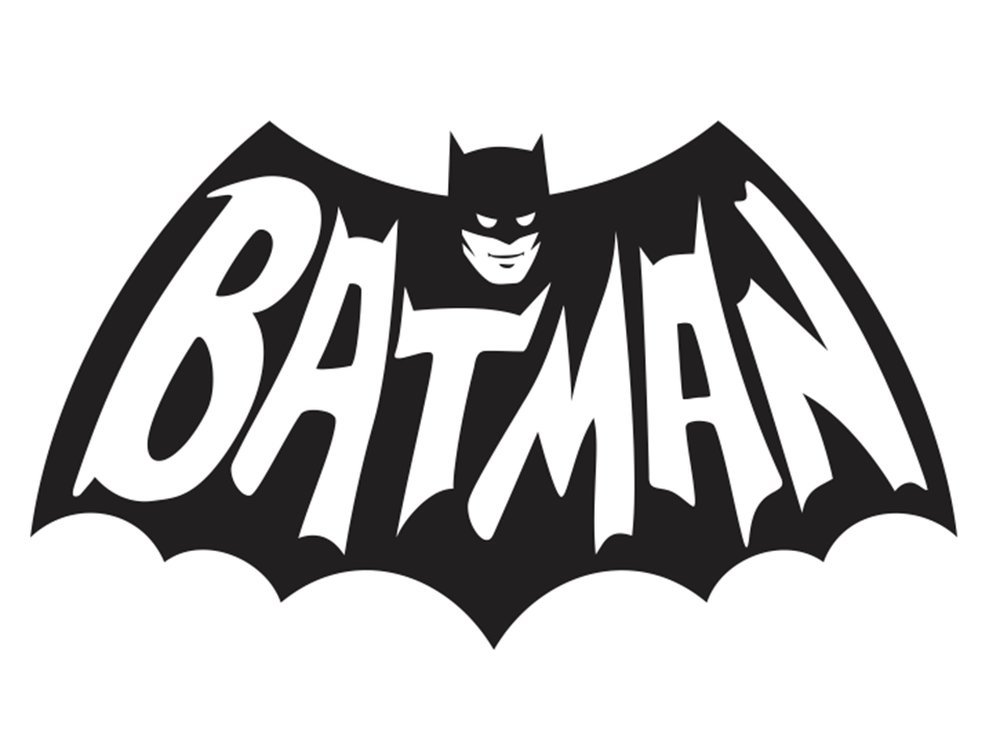 Amazon Batman Symbol 1940s Tv Series Logo Vinyl Decal