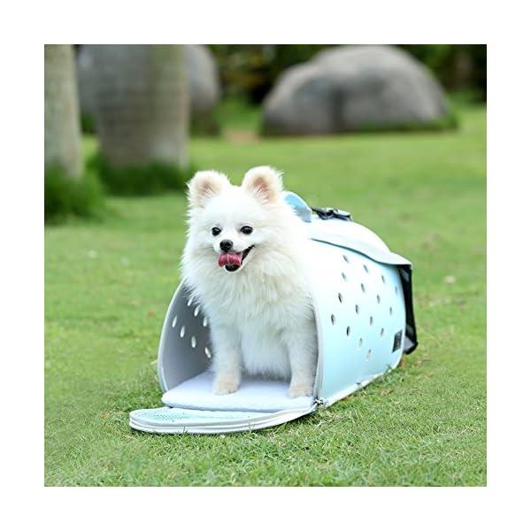 YD Pet Travel Carrier Shoulder Pet Backpack Pet Outing Package Dog Bag Cat Cage Cat Bag Outgoing Portable Dog Bag… Click on image for further info. 4