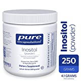 Pure Encapsulations - Inositol (Powder) - Hypoallergenic Supplement Supports Healthy Mood, Emotional Wellness and Behavior, and Ovarian Function* - 250 Grams