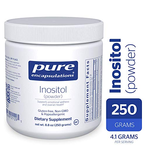 Foods Inositol Pure Powder - Pure Encapsulations - Inositol (Powder) - Hypoallergenic Supplement Supports Healthy Mood, Emotional Wellness and Behavior, and Ovarian Function* - 250 Grams