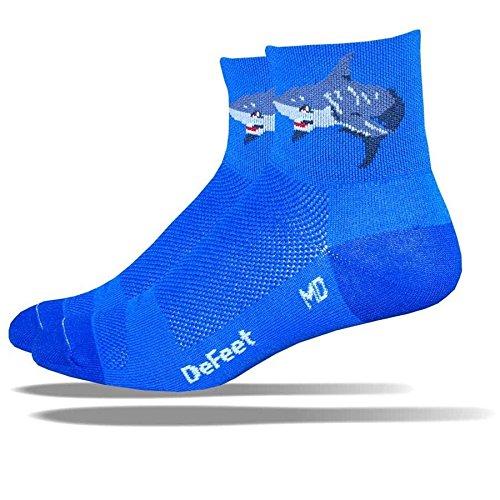 DeFeet AirEator 2.5in Attack! Cycling/Running Socks - AIRATT