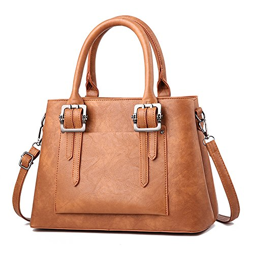 Bolsa Moda Simple Bolso brown Toda Bolso Nueva Gules Ocio Meaeo Correspondencia qInwx1gFT