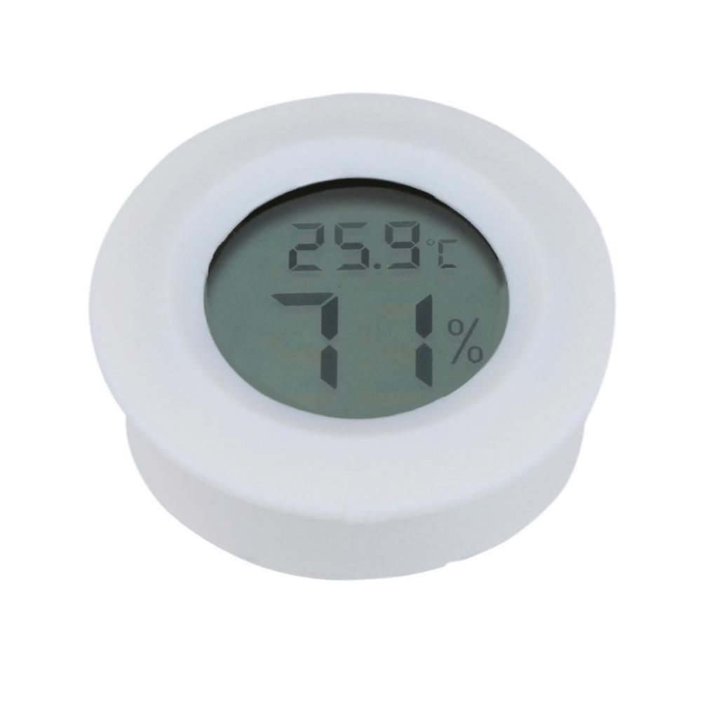 perfk Leicht LCD Digital Thermometer Luftfeuchtigkeit Tester