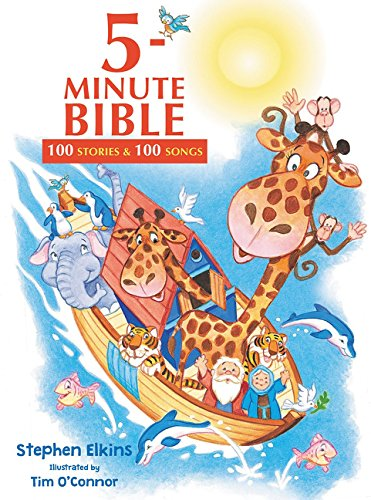 Read Online 5-Minute Bible: 100 Stories and   100 Songs pdf epub