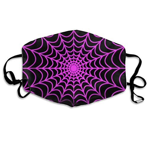 Dust Mask - Anti Dust Pollution Mask - Washable Mouth Mask with Adjustable Straps (Halloween Spider -