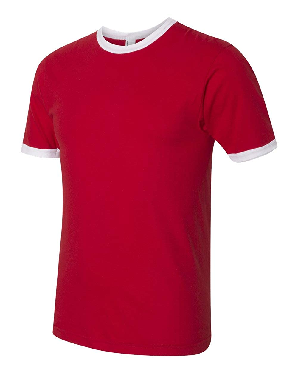 bf6d2668 Amazon.com: American Apparel Womens Fine Jersey Ringer T-Shirt (2410W):  Clothing