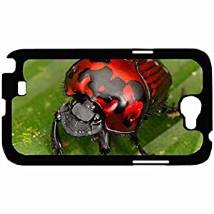 Customized Back Cover Case For Samsung Galaxy Note 2 Hardshell Case, Back Cover Design Insect Personalized Unique Case For Samsung Note 2