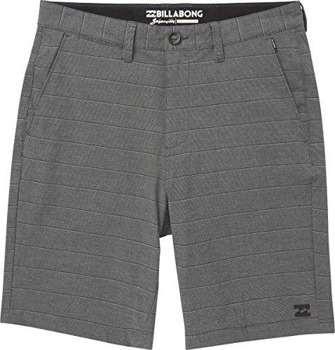 Billabong Men's Crossfire X Stripe '18 Walkshorts,38,Black