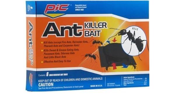 Pic ant-m6 Ant Control Metal latas, 6-pack: Amazon.es: Jardín