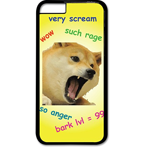 Geekfun   Doge Meme 9Gag Reddit Imgur Shiba Inu Dog Phone Case Apple Iphone 6 6S Tpu  Thermoplastic Polyurethane    High Quality Durable Material  Bark Rage