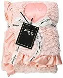 Twinkles of Joy Light Up and Musical Girls Receiving Baby Blanket, Pink Counting Star Deluxe