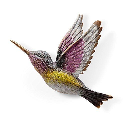 Trilling Hummingbird Wall Plaque