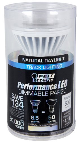 Feit Electric 50 Watt Par20 Flood Halogen Light Bulb
