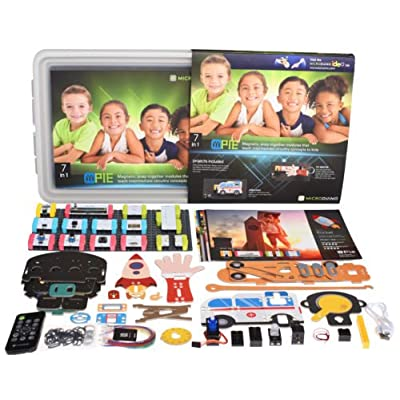 microduino mPie Educational STEM Toy to Learn Electronics and Programming, Building and Coding Set for Kids Aged 7+: Toys & Games