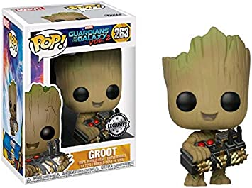 Spielzeug Funko Pop Groot With A Bomb 263 Guardians Of The Galaxy Vol 2 Triadecont Com Br