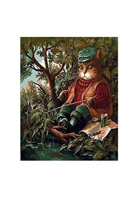 Old Fisherman Imagen para colorear por números con pinturas ...