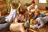 Bangtan Boys BTS - LOVE YOURSELF 承 [Her] Unfolded Official Posters - 4 version in tube case (L ver.)