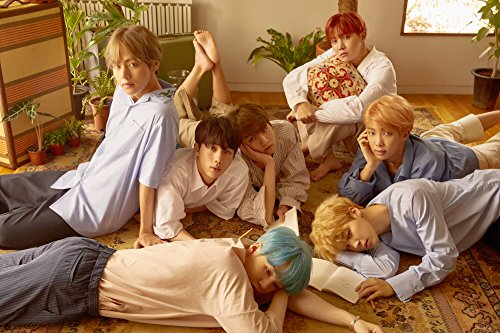 BTS - Love Yourself ? Her Unfolded Official Posters - 4 version in tube