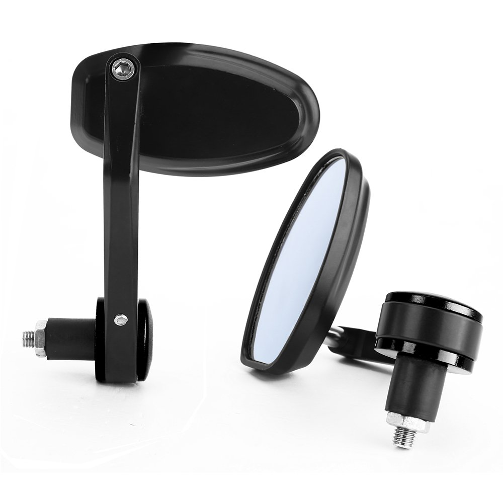 Paire Rétroviseur Universel Moto 7/8' 22MM miroir rotationnel anti-reflet eblouissement