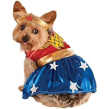 Rubie's DC Comics Pet Costume, Medium, Wonder Woman
