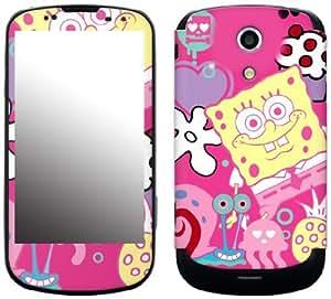 MusicSkins, MS-SBOB40215, SpongeBob SquarePants - Sugar and Spice, Samsung Epic 4G Galaxy S (SPH-D700), Skin