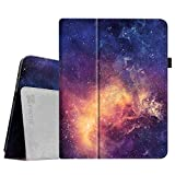 Fintie iPad 1 Folio Case - Slim Fit Vegan Leather Stand Cover with Stylus Holder for Apple iPad 1 1st Generation - Galaxy